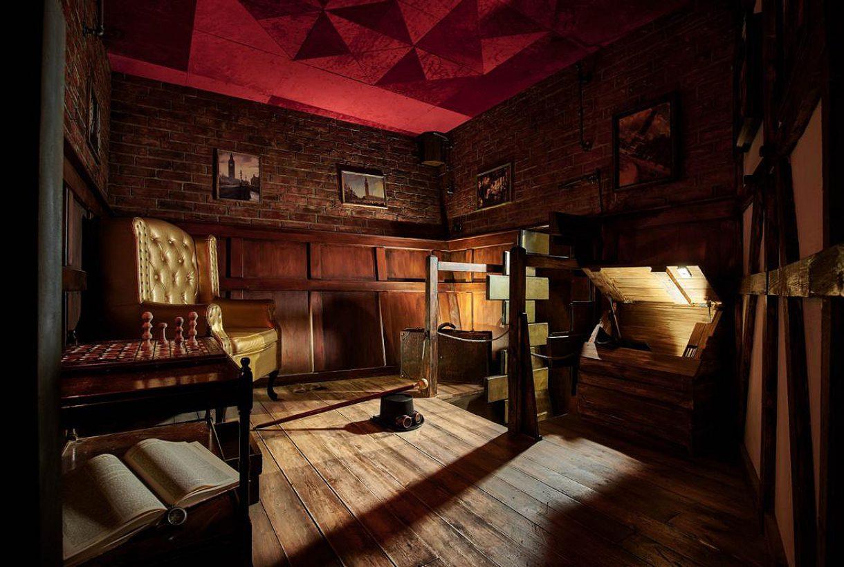 Hidden in Hamburg - Escape Room. Spielt direkt an Bord