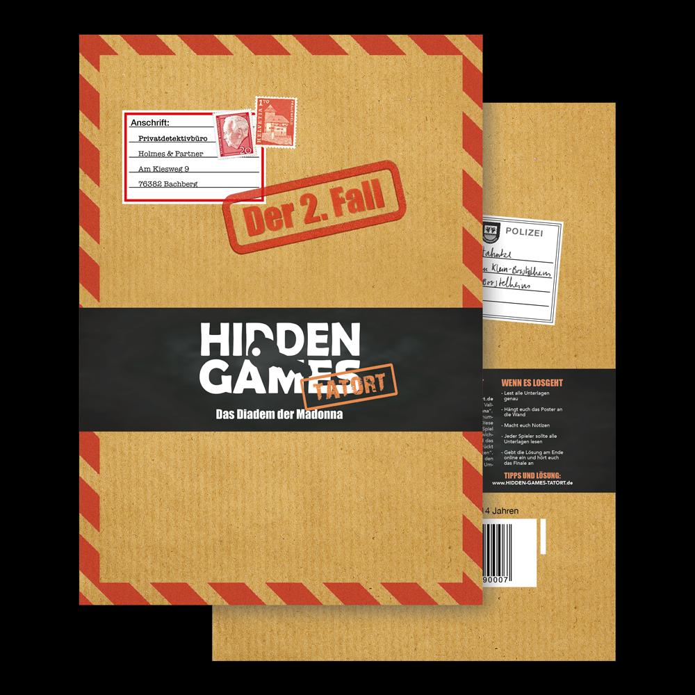 Krimispiel Fall 2 Umschlag