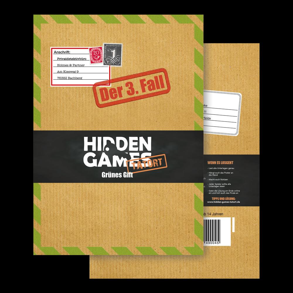 Krimispiel Fall 3 Umschlag