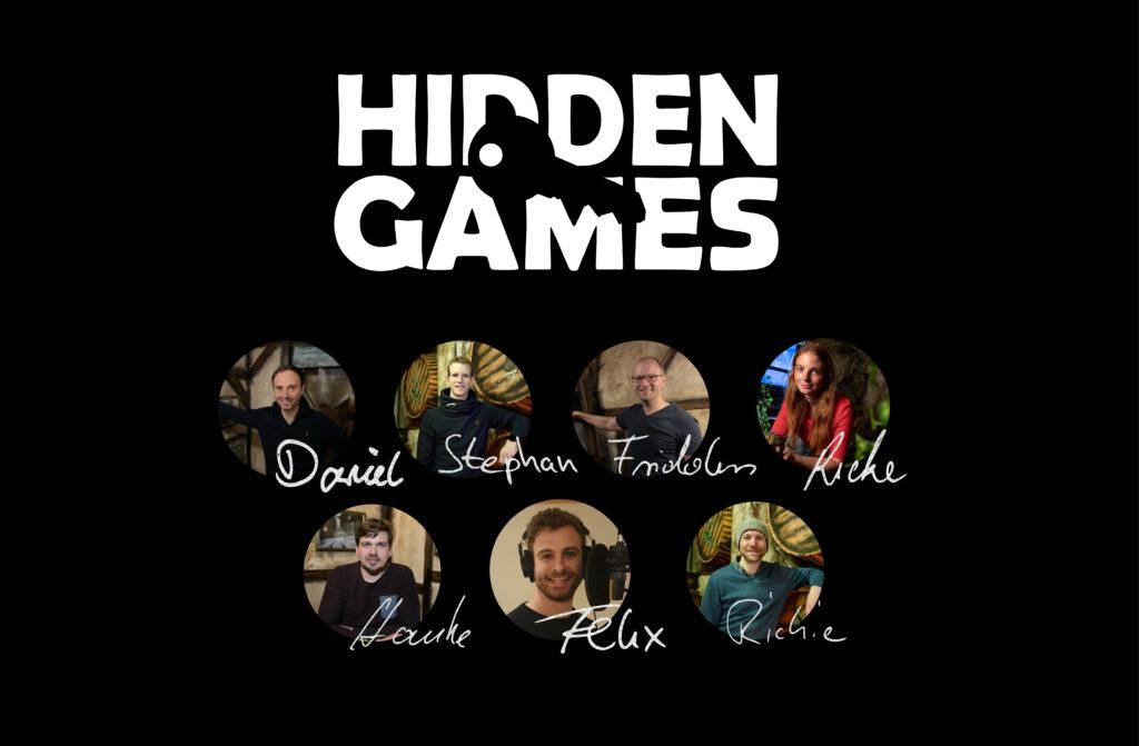 Die Gründer von Hidden Games